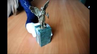 Бронзовая статуэтка Архангел Михаил