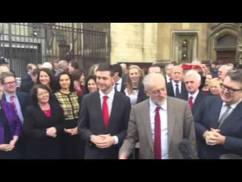 Newly-elected Oldham West and Royton  MP Jim McMahon welcomed to Westminster