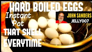 INSTANT POT | EASY PEEL HARD BOILED EGGS electric pressure cooker HOW TO & Best way to boil egg