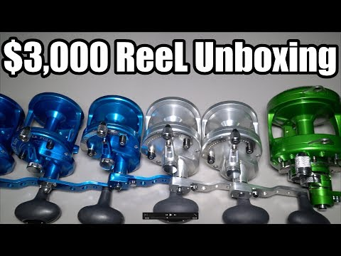 My Most EXPEN$IVE Reel Unboxing- (DREAM Reels) ft. J&H Tackle and AVET Reels
