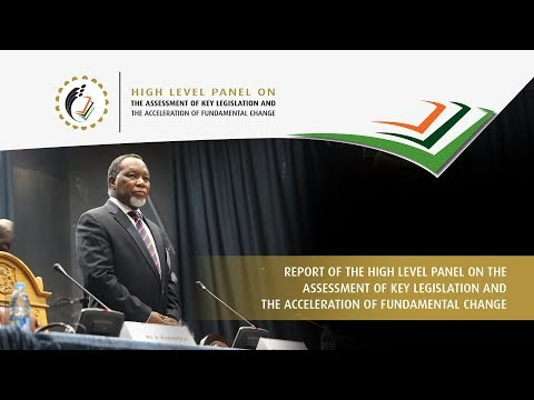 Speakers' Forum of South Africa will receive the final report of the High Level Panel