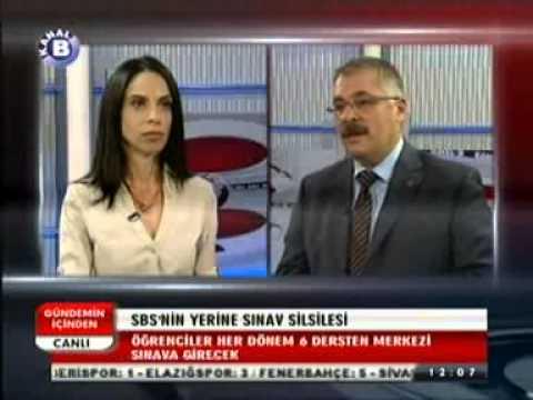Eğitim İş Genel Sekreteri Şenol EYÜPOĞLU Kanal B Televizyonunda değerlendirmelerde bulundu