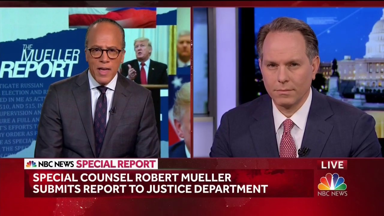 Jeremy Bash on NBC's Special Report regarding Mueller Report 3/22/19