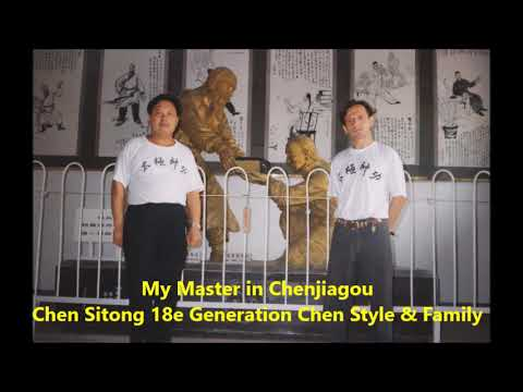 The Power of Taijiquan Chen Sitong and GM Walter Toch first time to Europe 1995 !
