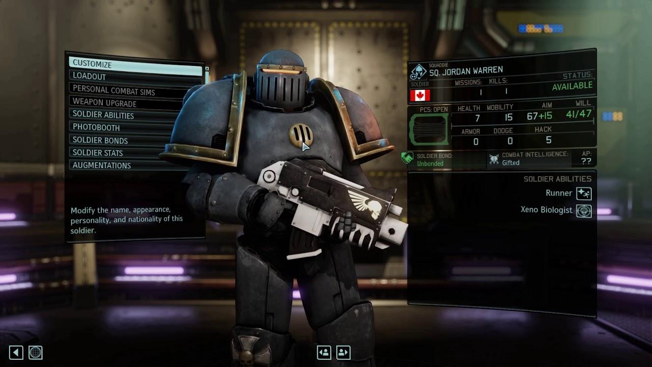 XCOM 2: Space Marine Mod Q&A With The Mod Creator DimDim ...