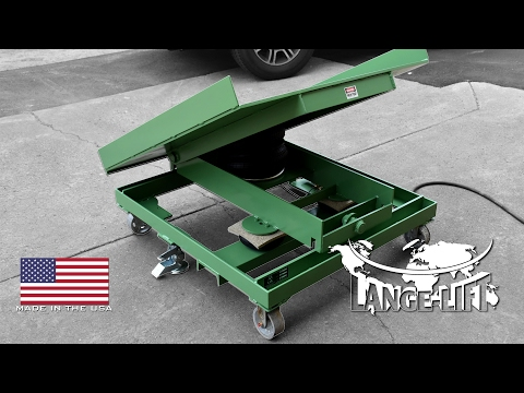 Multi-Axis Pneumatic (Air) Tilter - 3,000 Pound Capacity | Lange Lift