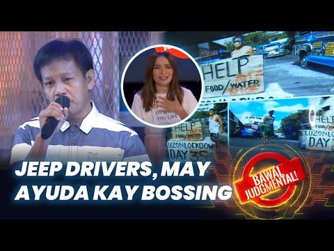 Jeepney Drivers Nabigyan ng Ayuda ni Bossing | Bawal Judgmental | June 24, 2020