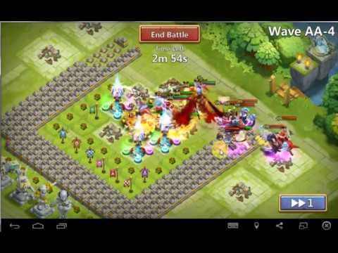 HBM AA Easy F2p Setup.....No Anubis | Castle Clash |