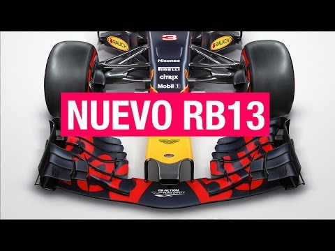Red Bull RB13, la bestia de Adrian Newey | SOYMOTOR.COM