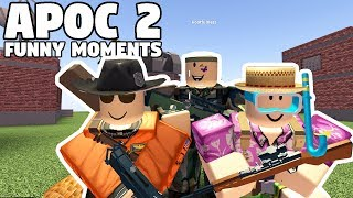 APOCALYPSE RISING 2 - WEAPON FIX UPDATE!! | FUNNY MOMENTS (ROBLOX)