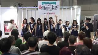 Country Girls' Yamaki Risa tries to do Niji no Conquistador's trade...