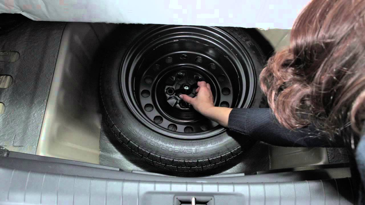 2015 nissan altima spare tire and tools youtube. Black Bedroom Furniture Sets. Home Design Ideas