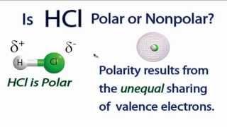 Is HCl Polar or Nonpolar?