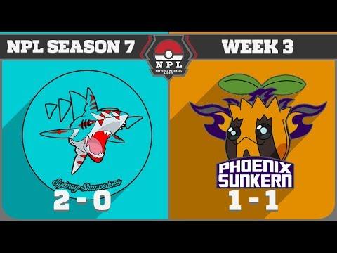 NPL S7 W3: Sydney Sharpedoes vs Phoenix Sunkern