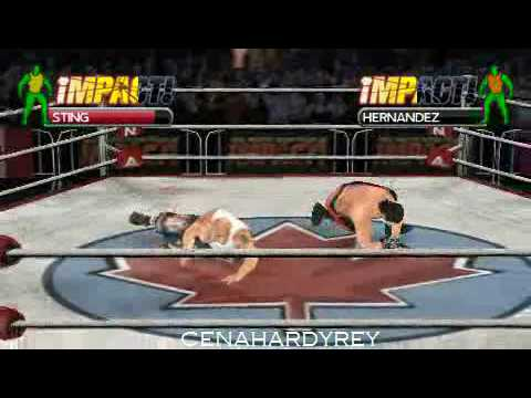 tna impact cross the line psp iso