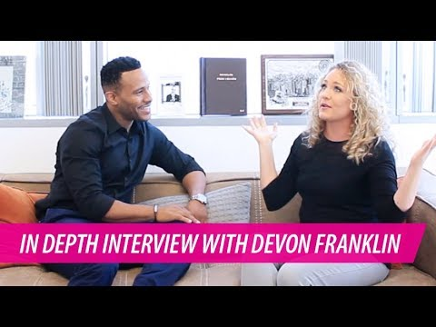 DeVon Franklin Interview on Success, Entrepreneurship, and the Hollywood Commandments #thepursuit