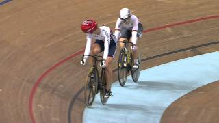 Video Kristina VOGEL - Rebecca JAMES - Women's Sprint Final - 2013 UCI World Track Championships, Minsk download MP3, 3GP, MP4, WEBM, AVI, FLV Juli 2018