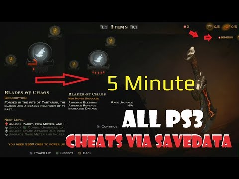 Easy How To Cheat  PS3 Game With Savedata  In 5 Minute