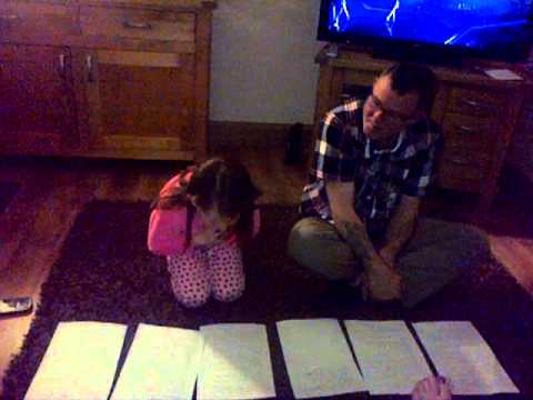 Wee Elle & Uncle Paul singing The Jeely piece Song