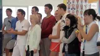 видео Российский теннисный тур в Клину