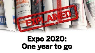 Expo 2020: One year to go | 25 million visitors to attend the world's greatest show
