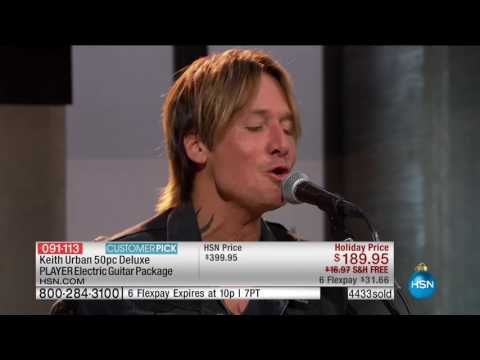 HSN | Keith Urban Guitar Collection 11.27.2016 - 09 PM