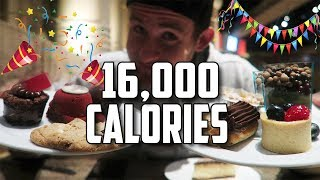 THE BIRTHDAY BUFFET CHALLENGE | 16,000+ CALORIES