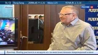Спички, мешок с углем и буржуйка: Жириновский собрал посылку для Яценюка