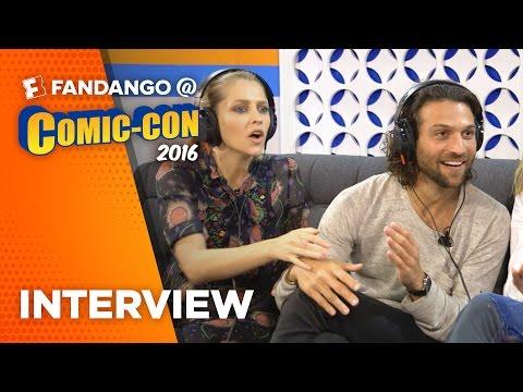 'Lights Out' Cast Interview – COMIC CON (2016)