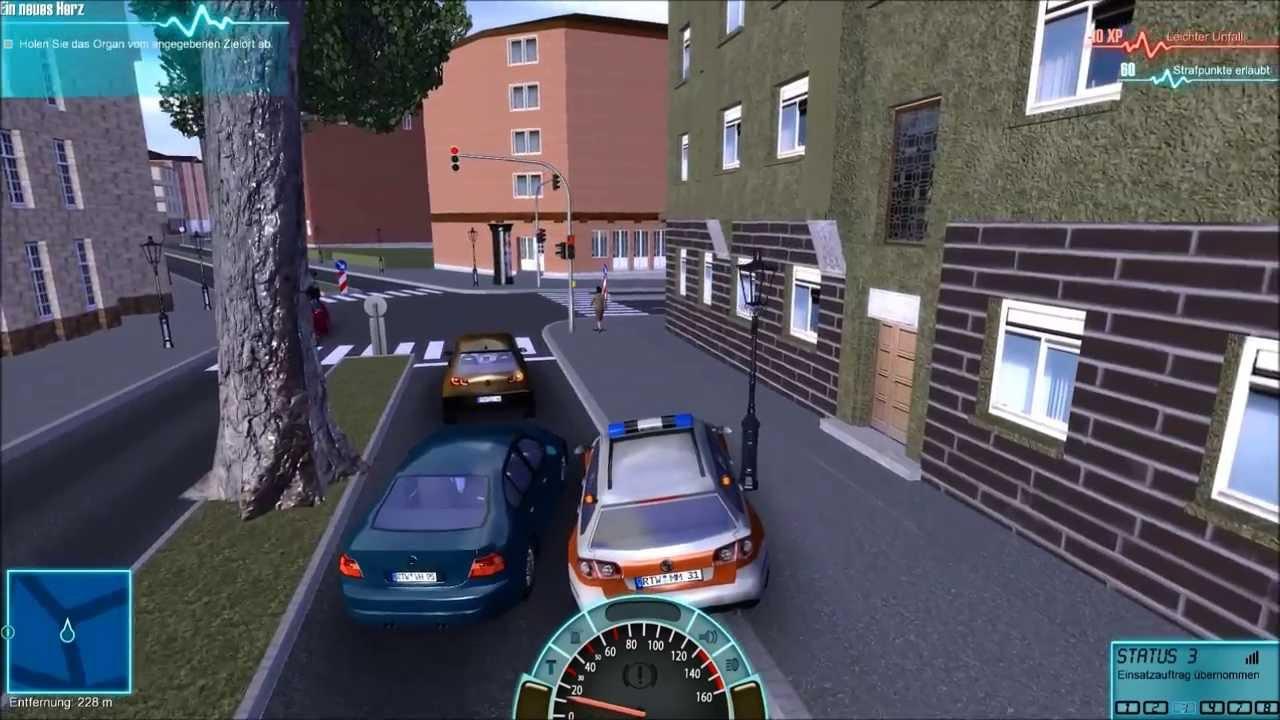 rettungswagen simulator 2014 gameplay teil 1 organtransport youtube. Black Bedroom Furniture Sets. Home Design Ideas