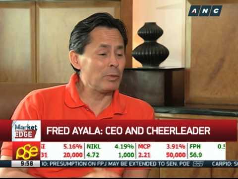 Fred Ayala: CEO and cheerleader