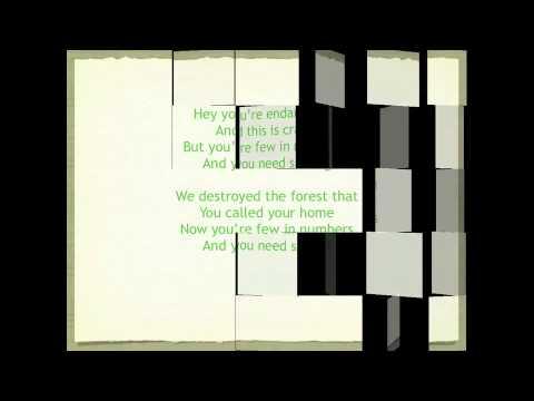 Видео Endangered animal thesis