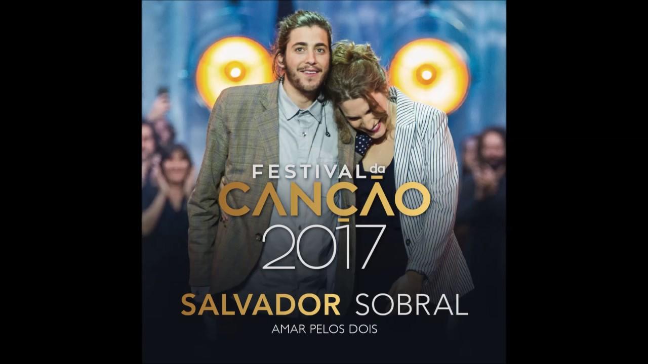 Salvador Sobral Amar Pelos Dois Studio Youtube