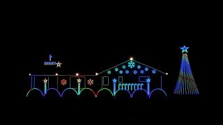 2017 Nisley Family Light Show