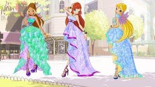 Стелла,Флора и Блум-Три сестры[WINX]