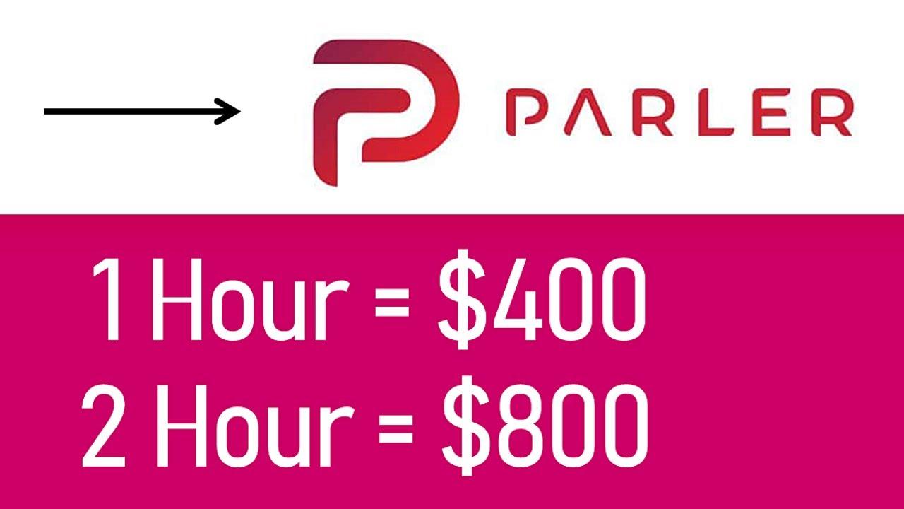 *NEW* Earn $4400+ From Parler ($400/Hour) FREE Make Money Online   Branson Tay