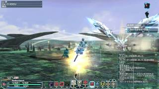 PSO2 7:25 Quartz Dragon No damage Fo ソロ