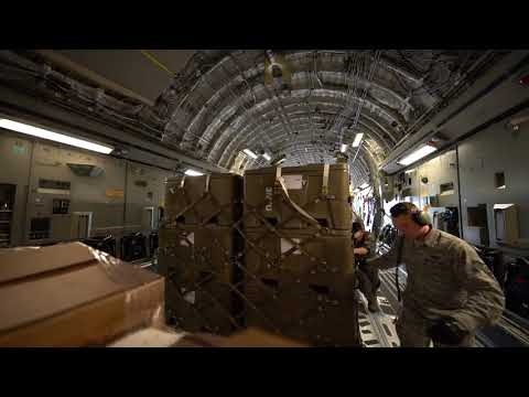 Pacific Air Forces - Exercise Southern Katipo 17 Pallet Load