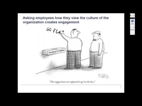 HR Survey Series Part I of II: Creating a High Performance Organization Culture