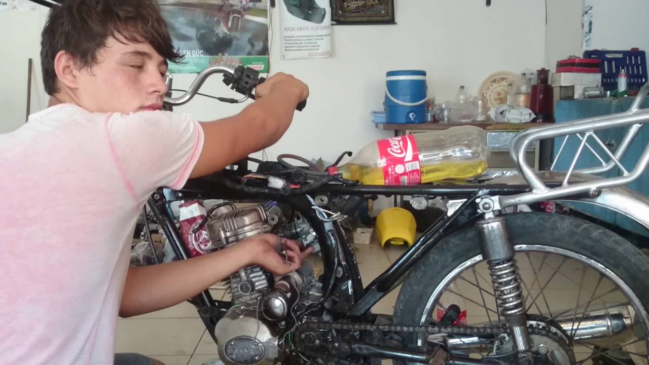 Amazing Homemade Honda Cg 125 Cafe Racer 2 Toplanirkentoplanirke Part 2 Youtube