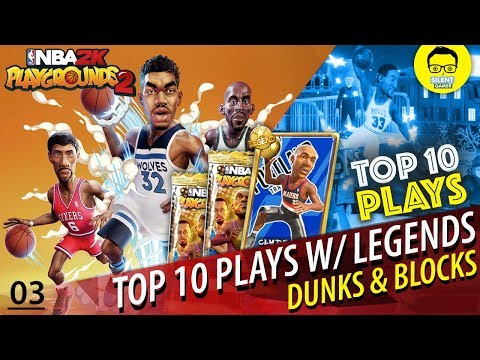 """The Official NBA Playgrounds 2 Top Ten Plays With Legends - """"2K NBA Playgrounds Gameplay"""""""