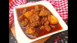 আলু দিয়ে মাংসের ঝোল || আলু-গোশত || Bengali Style Mutton/ Beef Curry with potato || Aloo diye Mangso