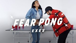 Exes Play Fear Pong (Aunjoli vs. Jordan) | Fear Pong | Cut