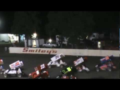 Josh Baughman #17 at Cow Town Speedway Kennedale, TX