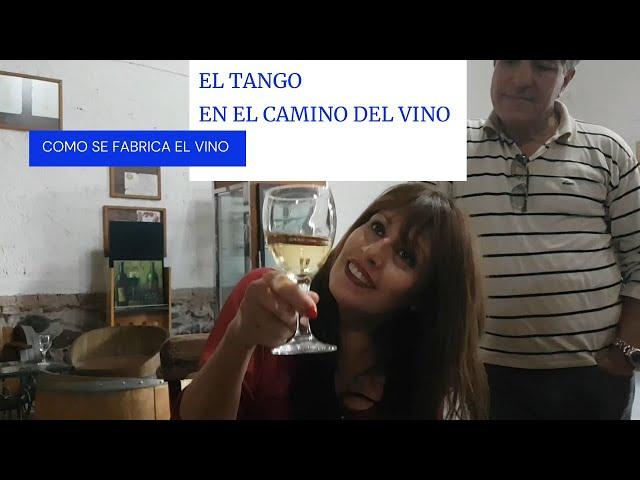 Tango en el camino del vino, como se elabora, compañeros inseparables. Mendoza