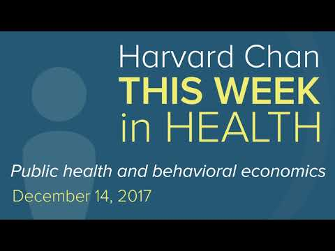 Public health and behavioral economics