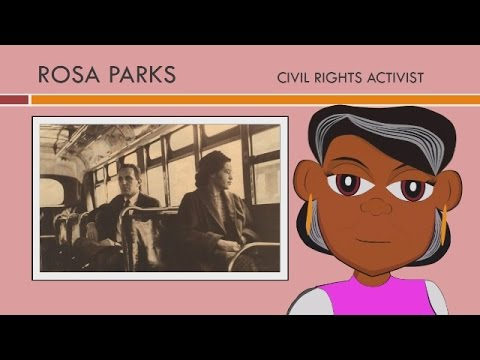 Rosa Parks Watch This Educational Video For Children With A Rosa Parks Biography Youtube