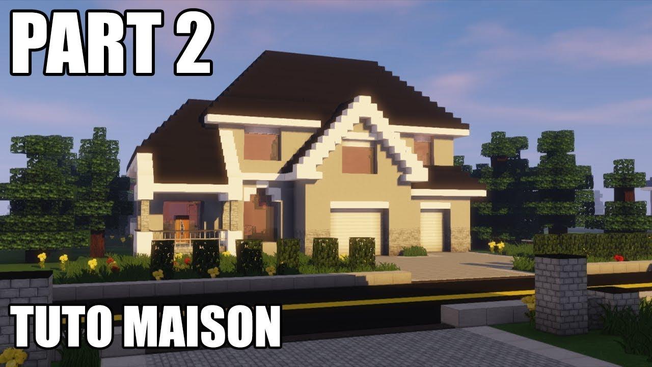 Tuto Minecraft | Comment Faire L\'intérieur D\'une Maison Américaine Dans  Minecraft !!!