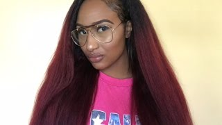 Atina Hair Store: Kinky Straight Hair Review