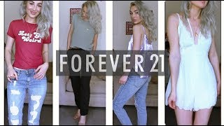 FOREVER 21 SUMMER FASHION HAUL | TRY ON CLOTHING HAUL #F21xMe